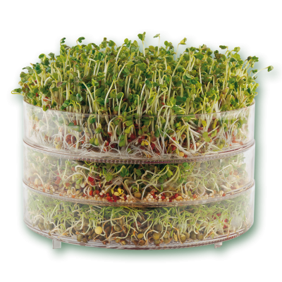 34284 13 biosnacky classic sprouter 3tiers with sprouts