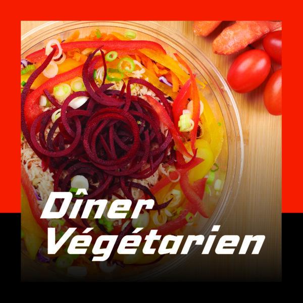Recueil du diner vegetarien